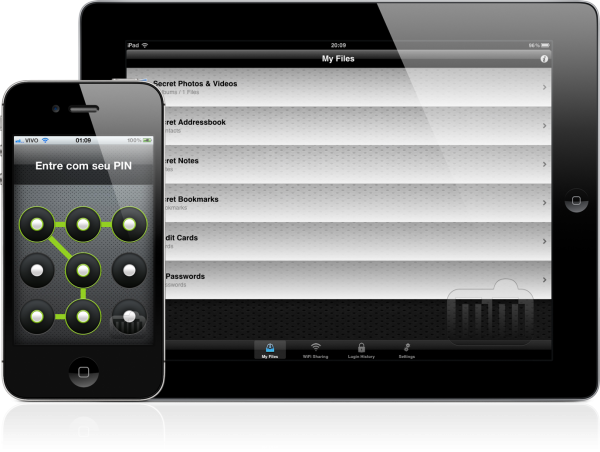 Pasta Segura - iPad e iPhone