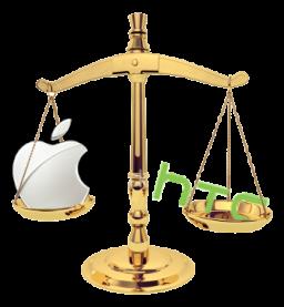 Balança - Apple vs. HTC