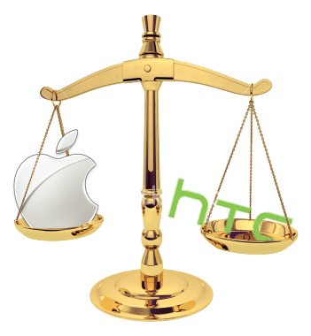 Balança - Apple vs. HTC
