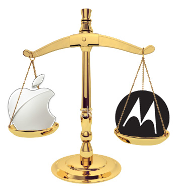 Balança - Apple vs. Motorola