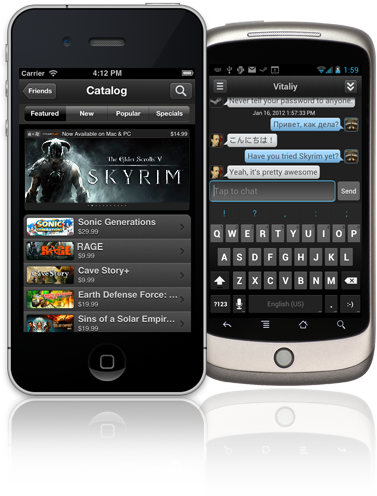 Steam Mobile no iPhone e Android