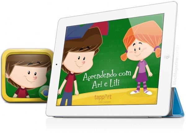 Aprendendo com Ari e Lili - iPad