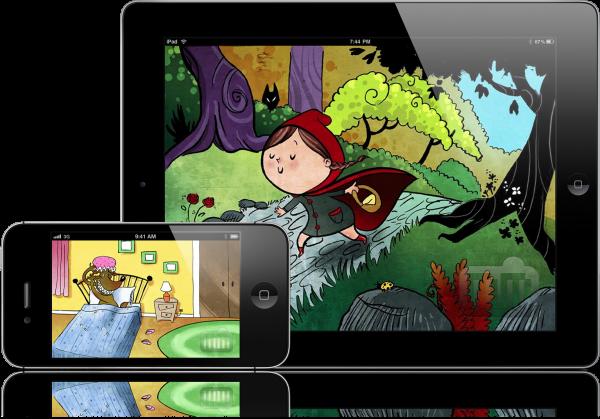 Chapeuzinho Vermelho - iPad e iPhone