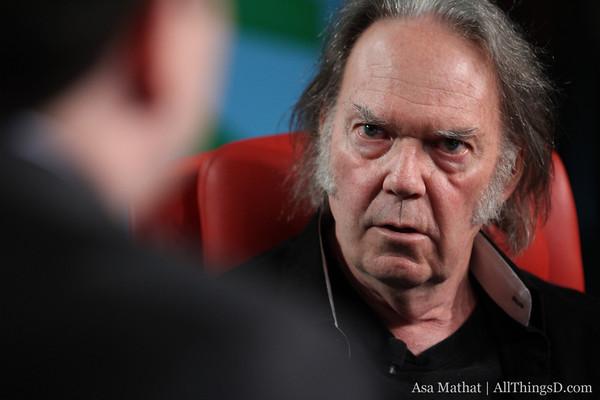 Neil Young em entrevista