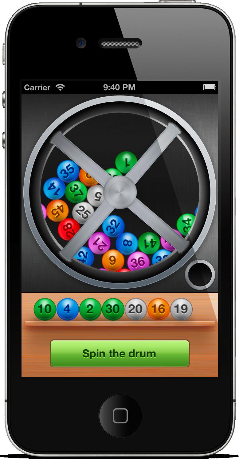 The Lotto Machine - iPhone