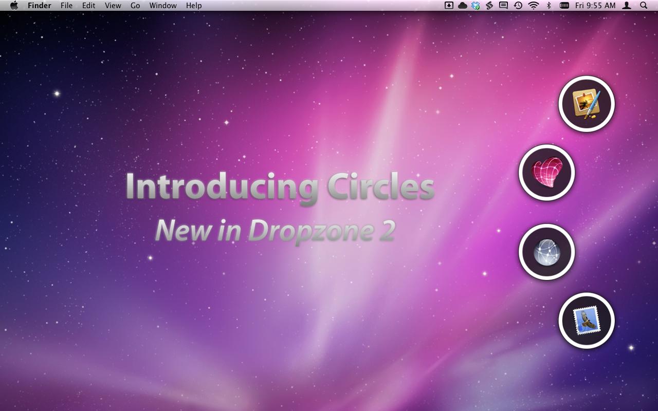 Dropzone 2.0 para Mac