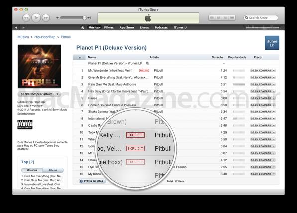 Explicit na iTunes Store