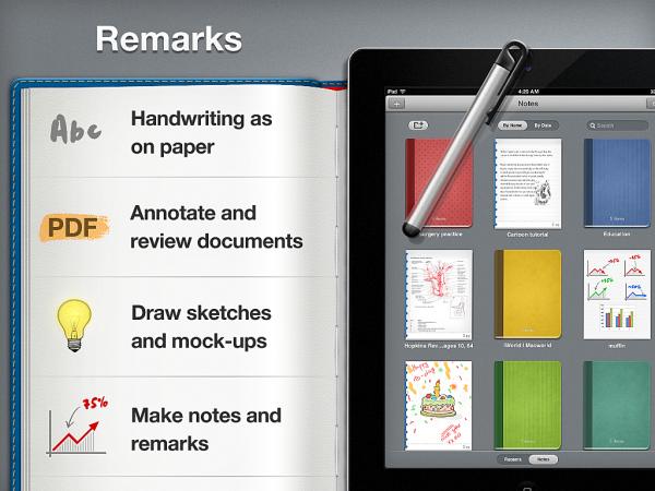 Remarks - iPad