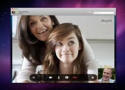 Skype 5.5 no Mac OS X