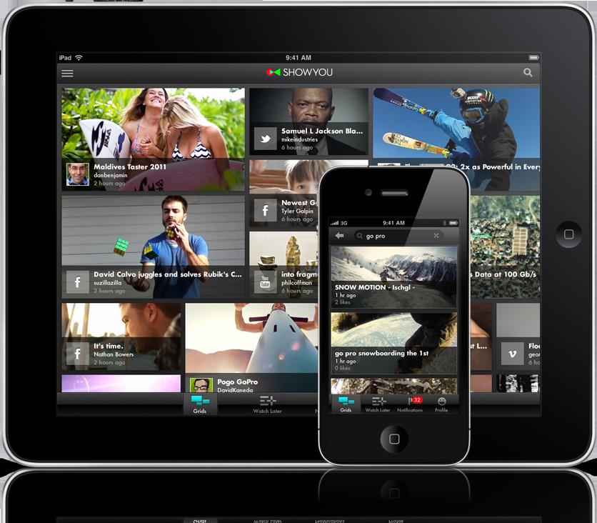Showyou - iPhone e iPad