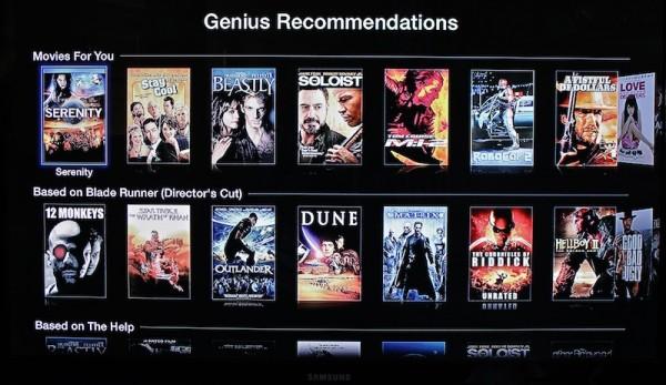 Genius no Apple TV