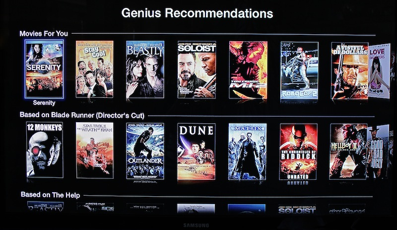 Genius no Apple TV
