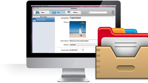 iDatabase com iMac