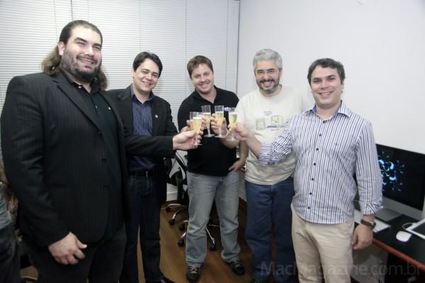 Coquetel de inauguração da IDS Tecnologia no Rio de Janeiro
