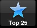 Ícone Top 25 da App Store