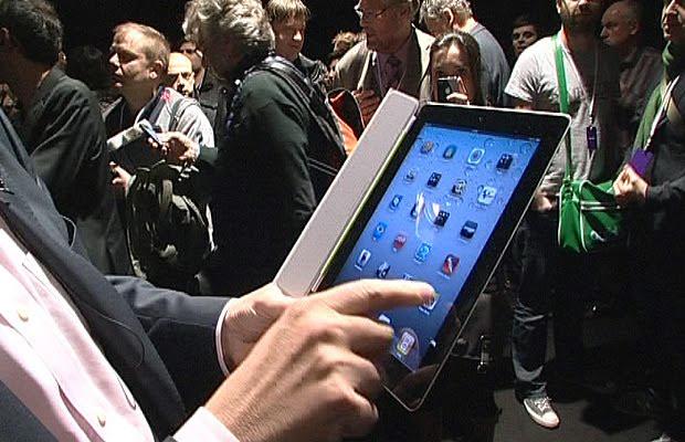 iPad na mão de deputado