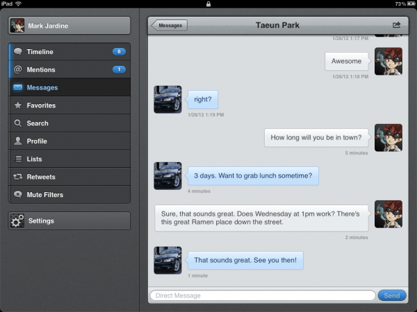 Tweetbot para iPad