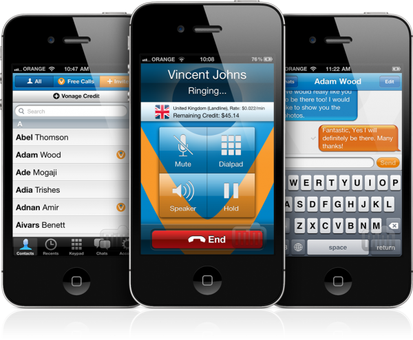 Vonage Mobile - iPhones