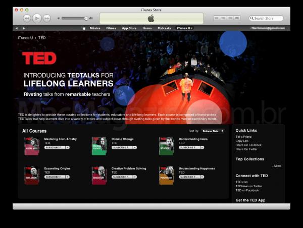 TED no iTunes U