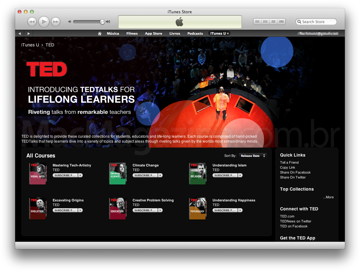 TED no iTunes U