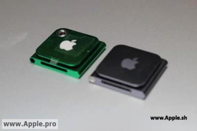 Case do iPod nano com espaço para câmera