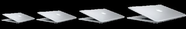 Mockup - Futura linha de MacBooks