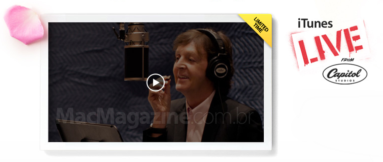 Paul McCartney na iTunes Store