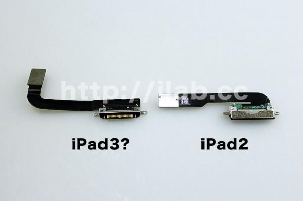 Peças do iPad 3
