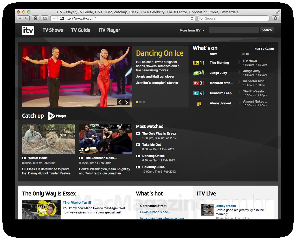 Site da iTV