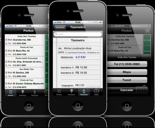 Táxi SP - iPhones