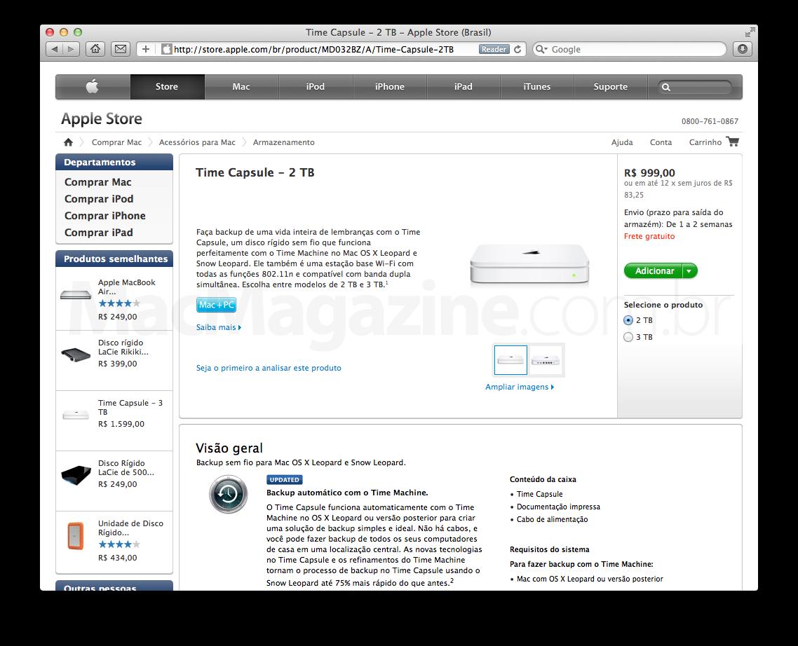 Time Capsule - Apple Online Store