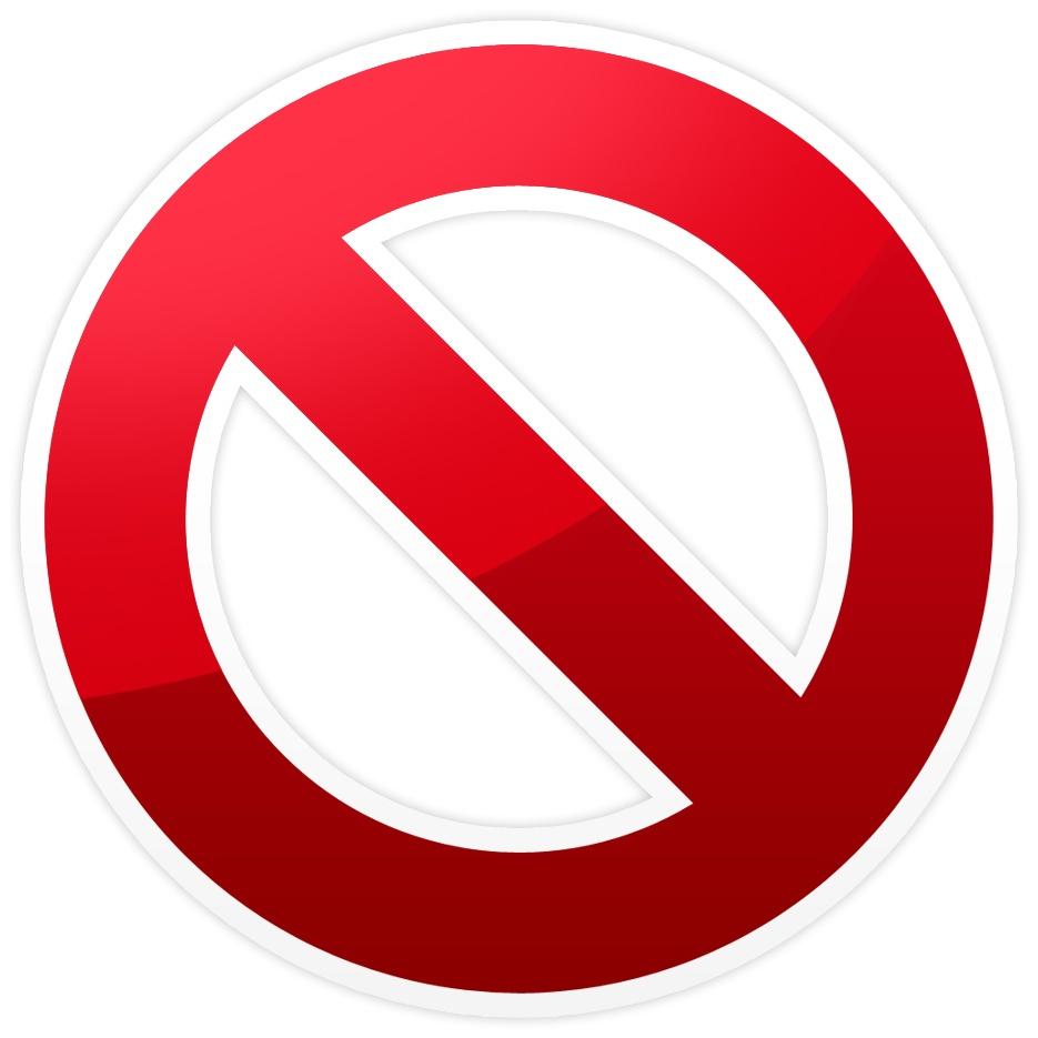 Símbolo - Proibido
