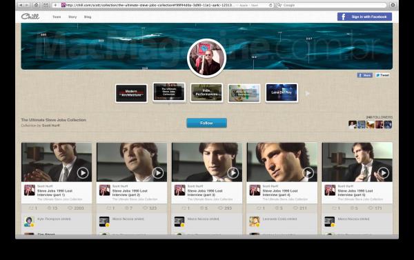 Chill - Coleção de vídeos de Steve Jobs