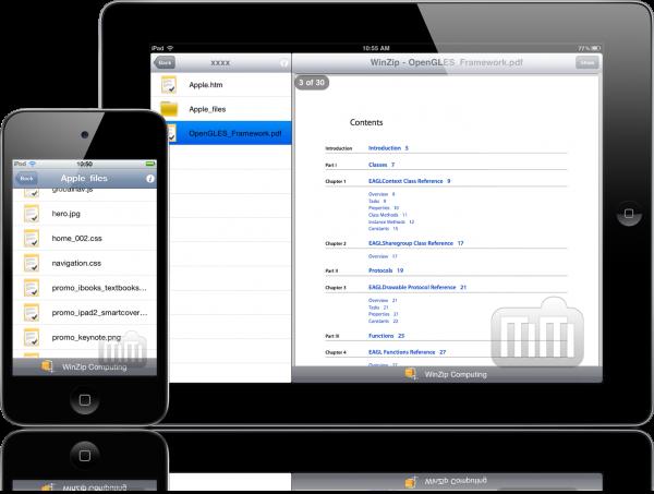 WinZip - iPad e iPod touch