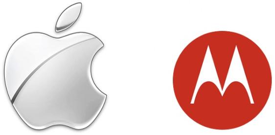Logo - Apple e Motorola