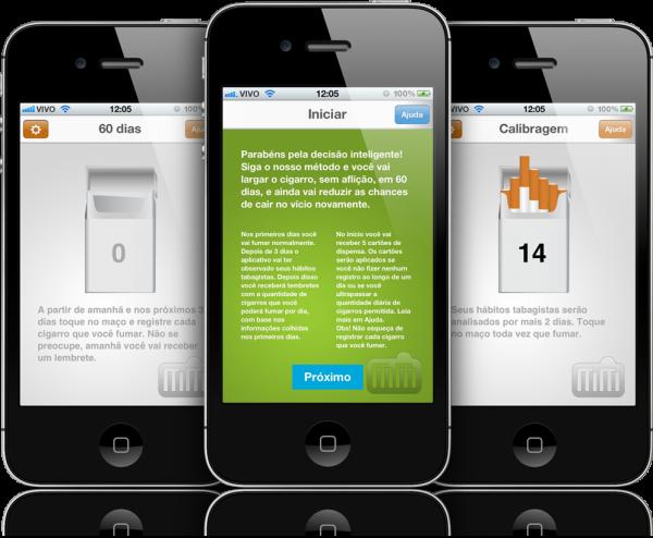 Pare de fumar em 60 dias - iPhones