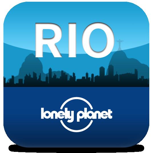 Ícone - Loney Planet - Rio de Janeiro
