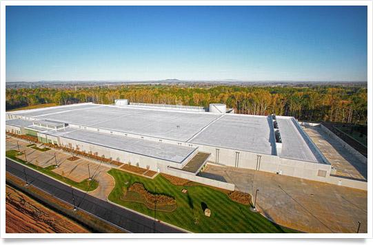 Data center da Apple em Maiden, na Carolina do Norte