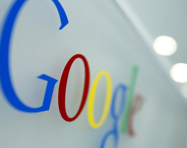 Logo do Google numa parede