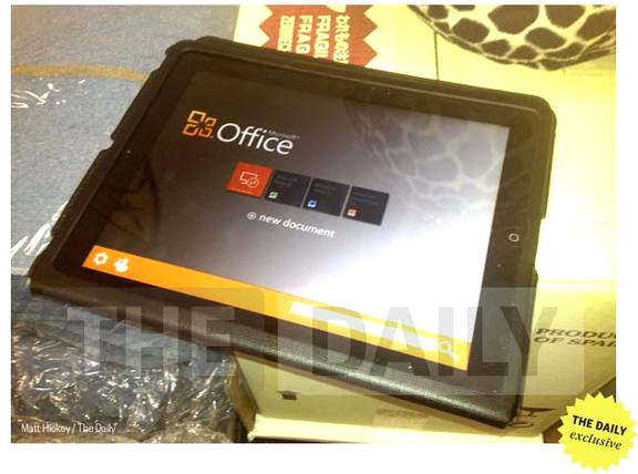 Microsoft Office no iPad?