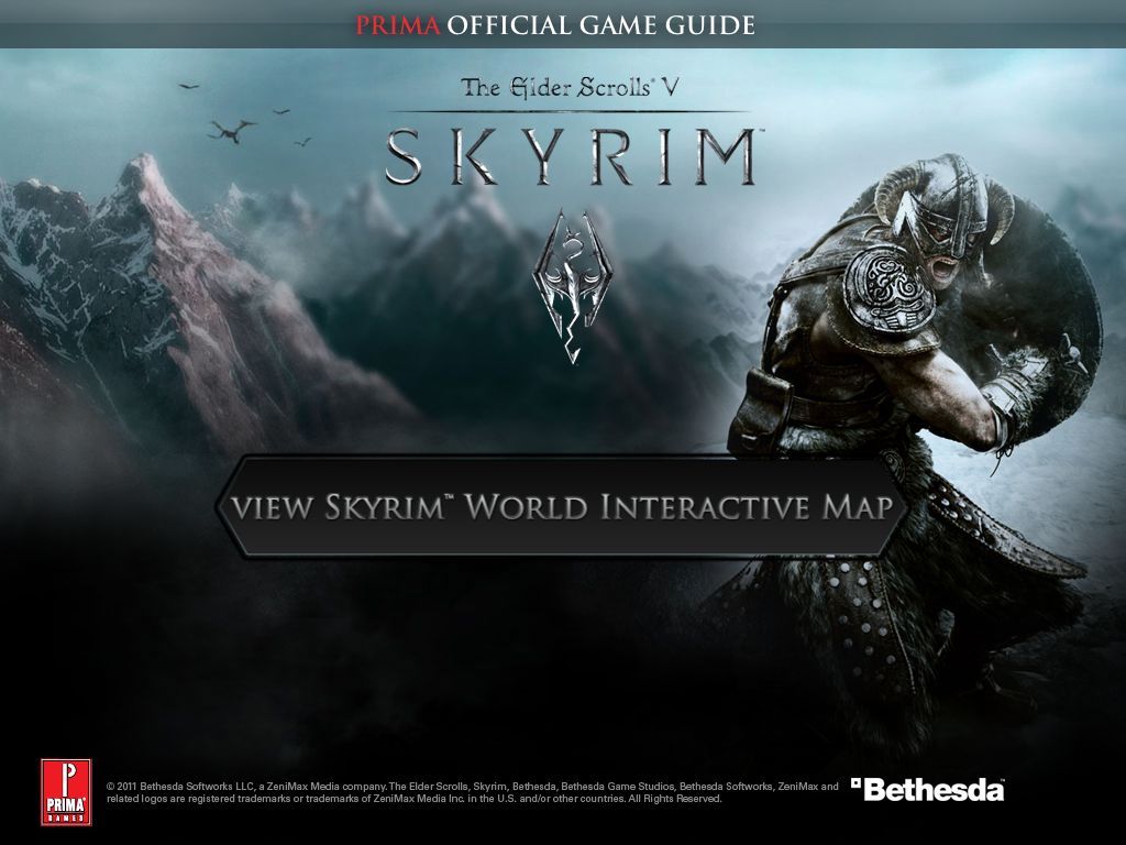 The Elder Scrolls V: Skyrim Official World Interactive Map