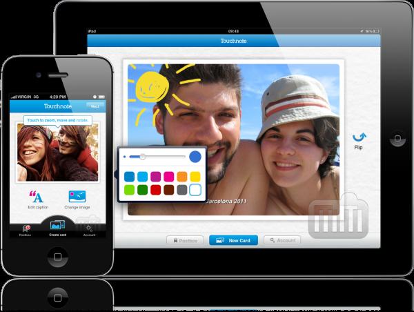 Touchnote - iPhone e iPad