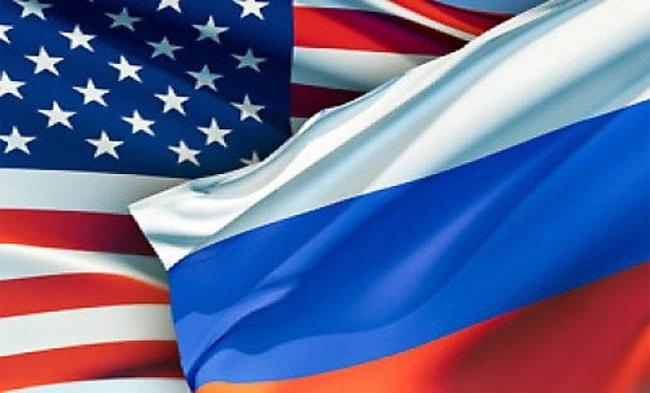 Bandeiras - Estados Unidos (EUA) e Rússia