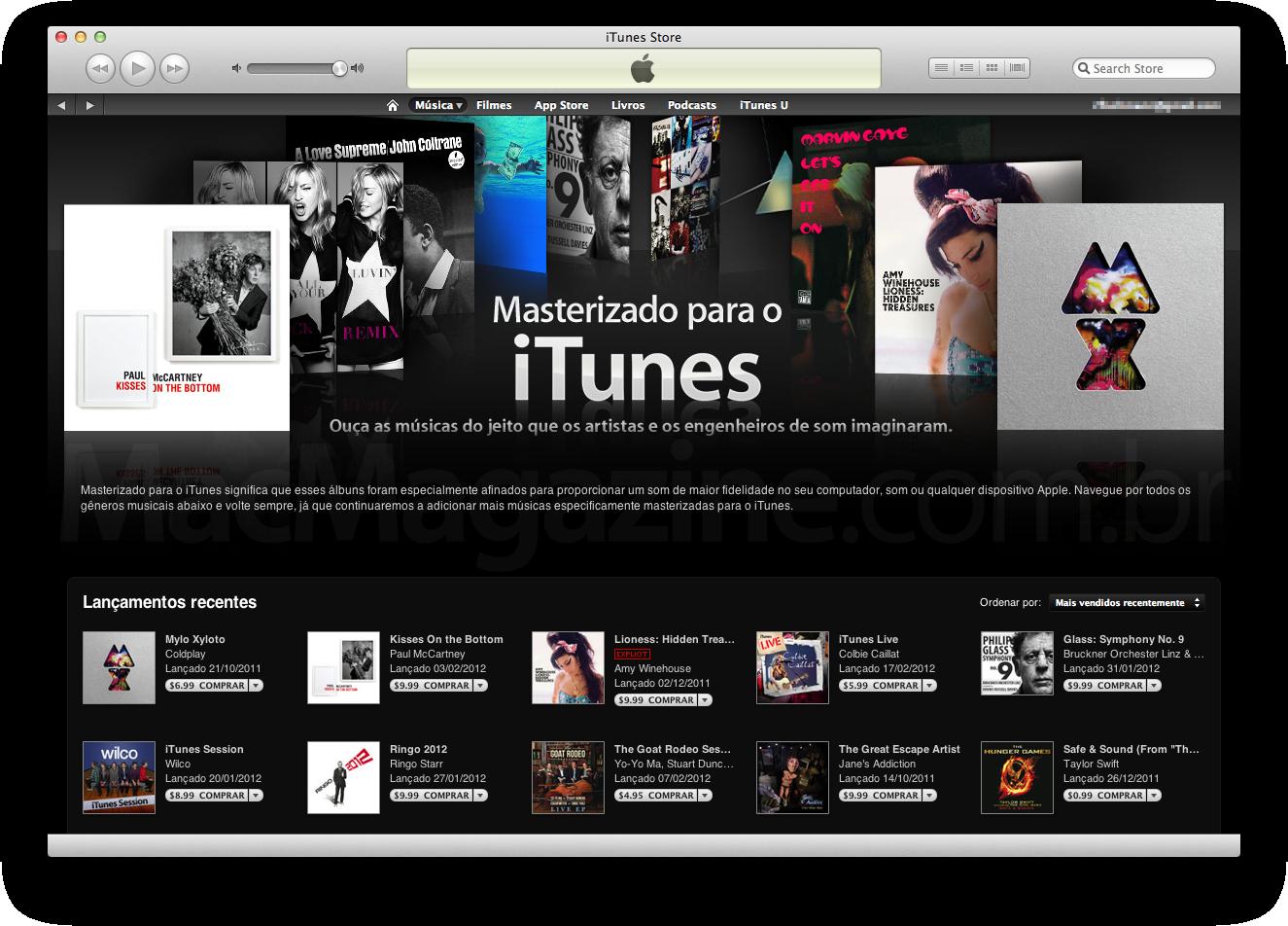 Masterizado para o iTunes