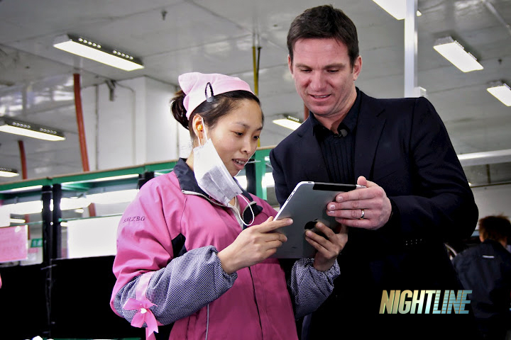 ABC Nightline na Foxconn