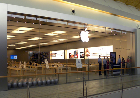 Apple Retail Store do Northlake Mall, em Charlotte