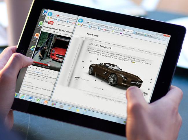 OnLive Desktop Plus no iPad