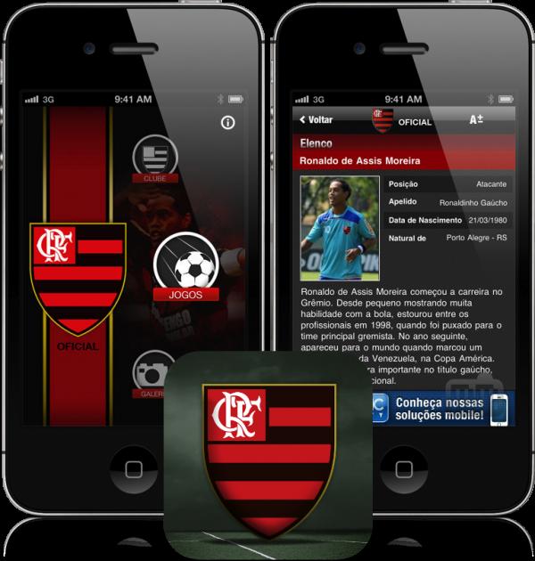 App oficial do Flamengo