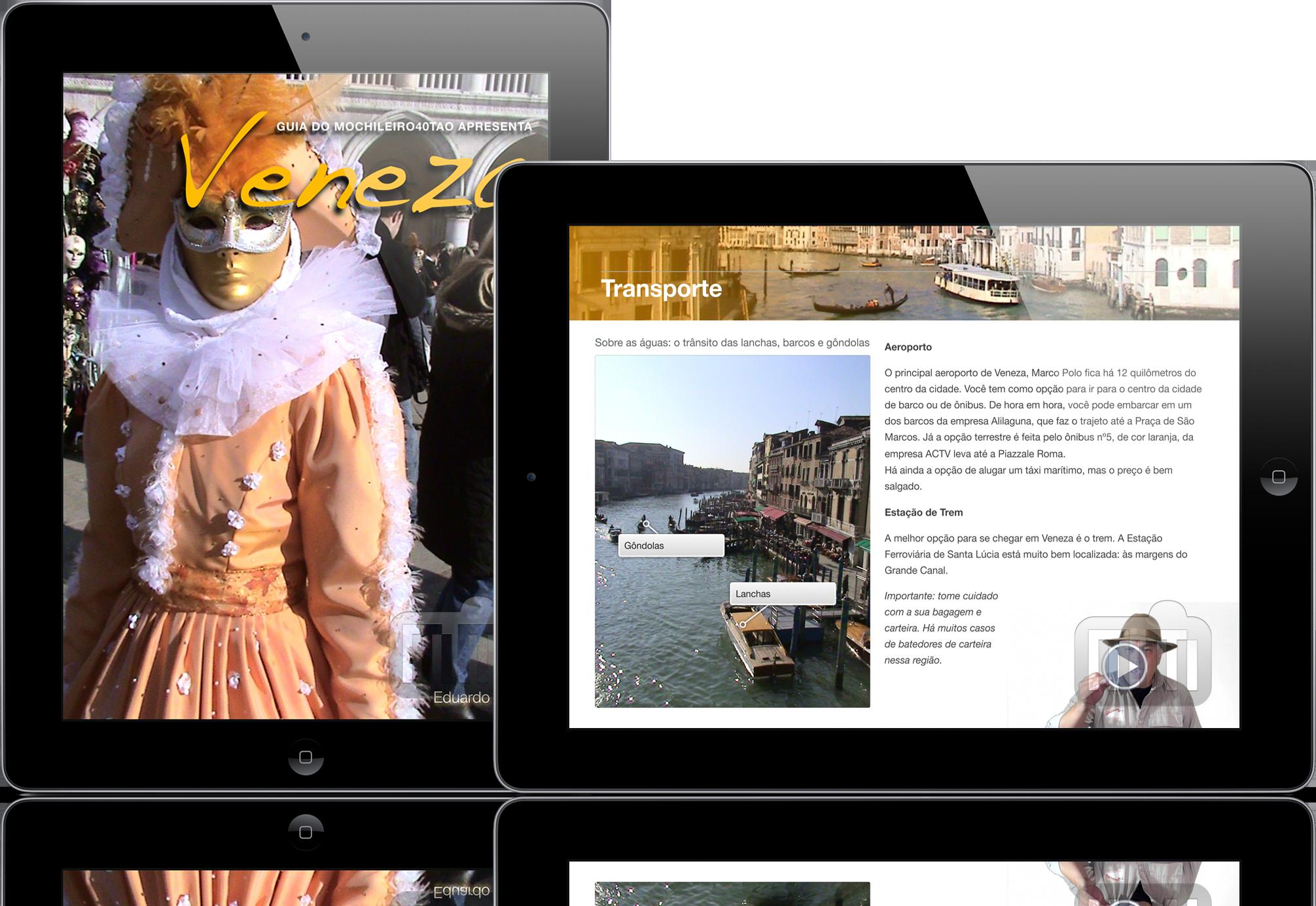 Veneza - iPads