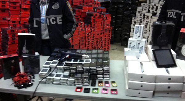 iGadgets falsos em Nova York